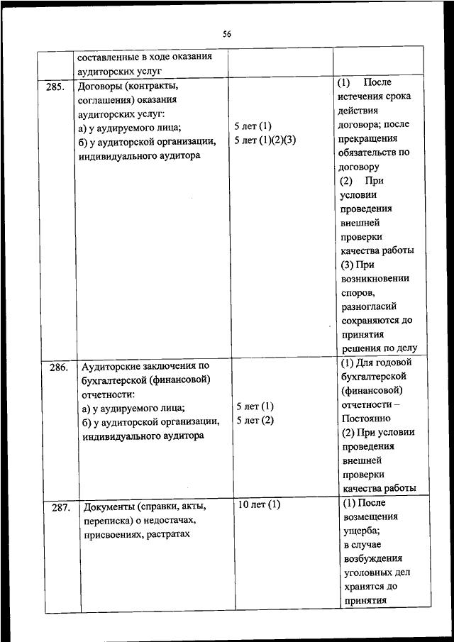 срок хранения уголовных дел после прекращения