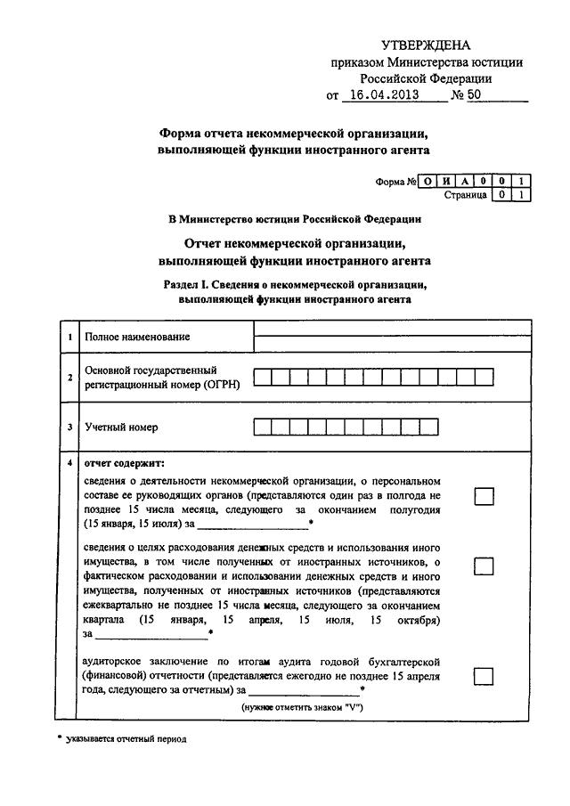 отчетность некоммерческой организации в 2013